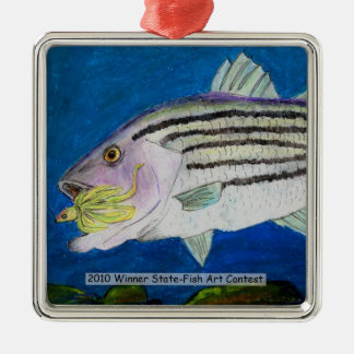 Winning Art By K. Wheeler Grade 6 Metal Ornament