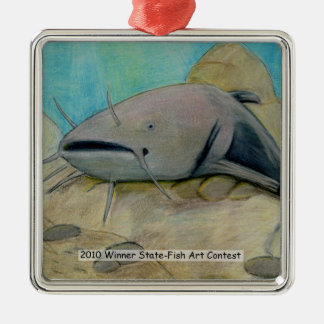 Winning Art By L. Peterson Grade 8 Metal Ornament