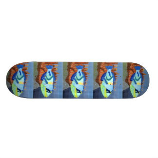 Winning art by L Porter - Grade 5 Skate Board Deck