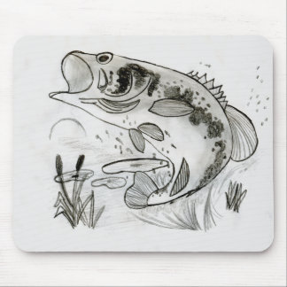 Winning art by  M. France - Grade 8 Mouse Pad