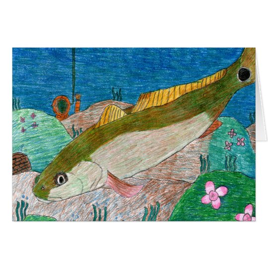 Winning art by  M. Groves - Grade 12 Card