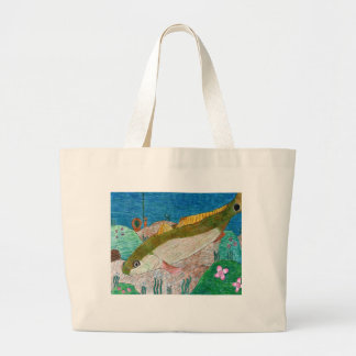 Winning art by  M. Groves - Grade 12 Large Tote Bag