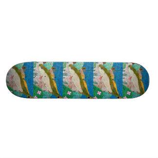 Winning art by  M. Groves - Grade 12 Skateboard