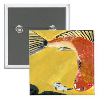 Winning art by  M. Harrell - Grade 5 Pinback Button
