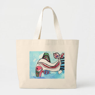 Winning Art By M. Quealey Grade 4 Large Tote Bag