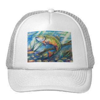 Winning Art By Q. Meng Grade 5 Trucker Hat