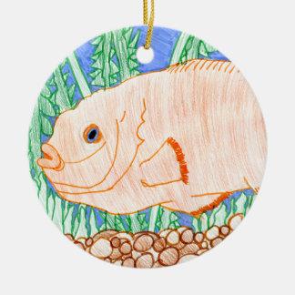 Winning art by  R. Struve - Grade 4 Ceramic Ornament