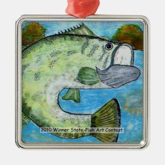 Winning Art By S. Abdullah Grade 4 Metal Ornament