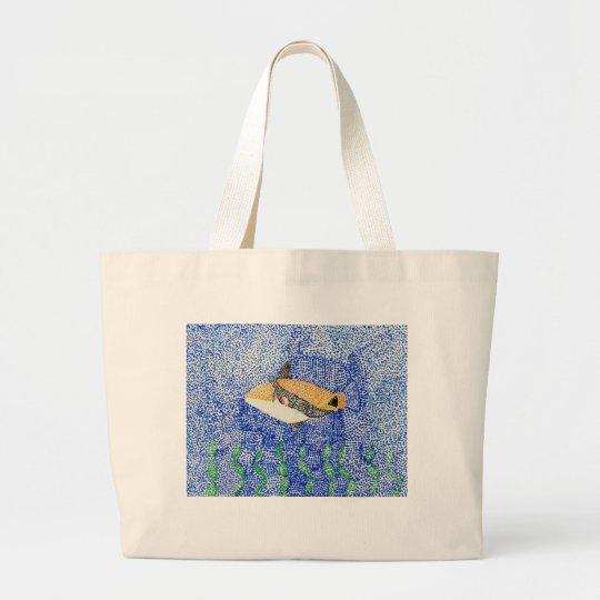 Winning Art By S. Bishop Grade 4 Large Tote Bag