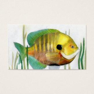 Winning art by  S. Cho - Grade 10 Business Card