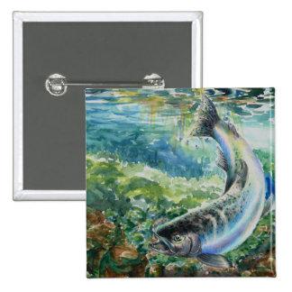 Winning Art By S. Chun Grade 11 Pinback Button