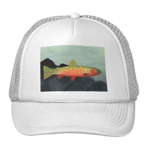 Winning art by  S. Clayton - Grade 7 Trucker Hat