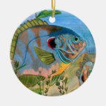 Winning art by  S. Daniels - Grade 11 Ceramic Ornament