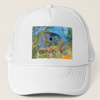 Winning art by  S. Daniels - Grade 11 Trucker Hat