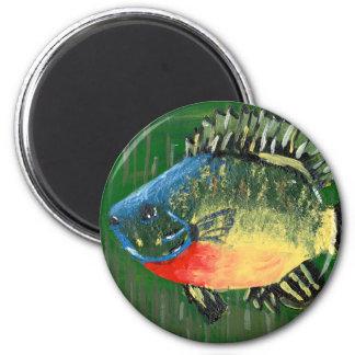 Winning art by  S. Darring - Grade 8 2 Inch Round Magnet