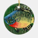 Winning art by  S. Darring - Grade 8 Ceramic Ornament
