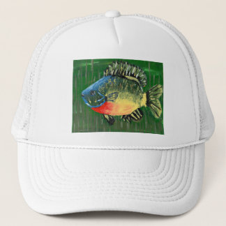 Winning art by  S. Darring - Grade 8 Trucker Hat