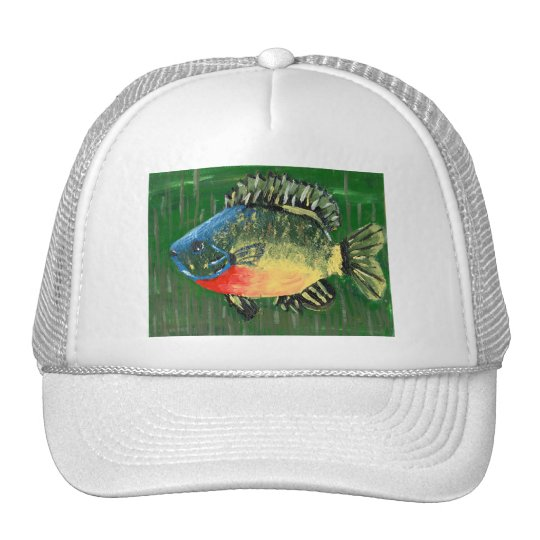 Winning art by  S. Darring - Grade 8 Trucker Hat