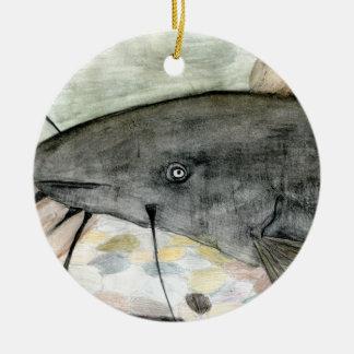 Winning art by  S. Hasenmiller - Grade 7 Ceramic Ornament