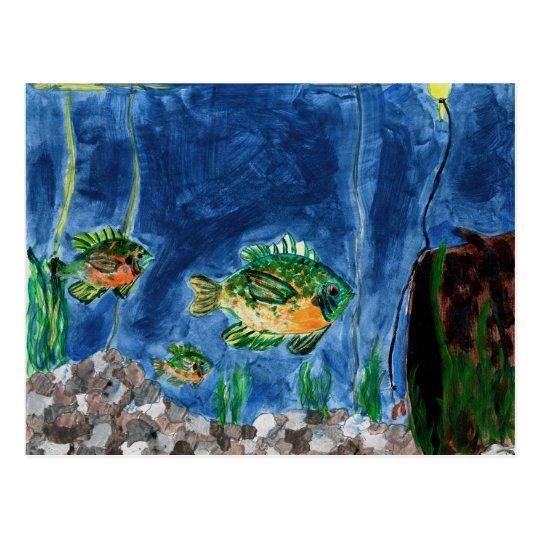 Winning Art By S. Jacobson Grade 7 Postcard