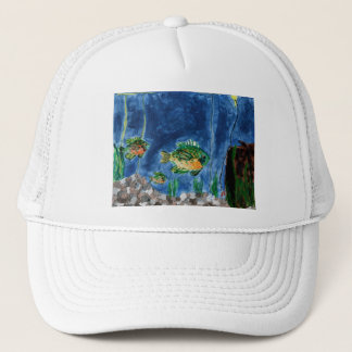 Winning Art By S. Jacobson Grade 7 Trucker Hat