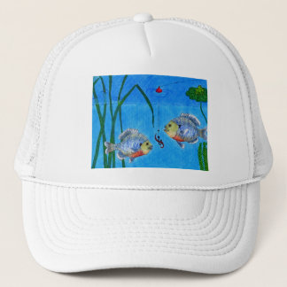 Winning Art By S. Reynard Grade 4 Trucker Hat