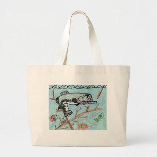 Winning Art By S. Yaley Grade 4 Jumbo Tote Bag