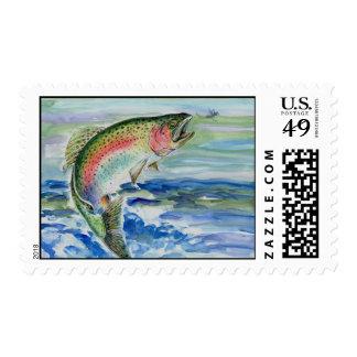 Winning Art By S. Yi Grade 7 Stamp