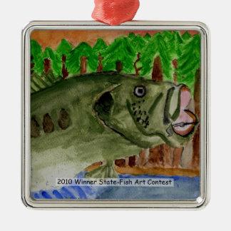 Winning Art By T. Amacker Grade 9 Metal Ornament