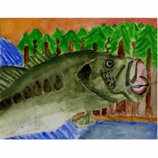 Winning Art By T. Amacker Grade 9 Statuette
