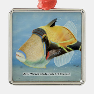 Winning Art By T. Jenkins Grade 11 Metal Ornament