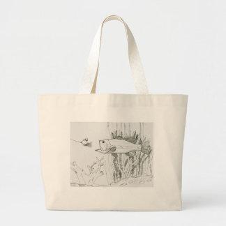 Winning Art By T. Kennedy Grade 7 Jumbo Tote Bag