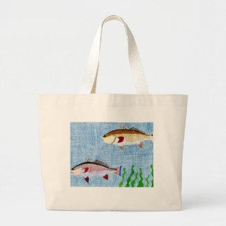 Winning art by  T. Locklear - Grade 9 Large Tote Bag