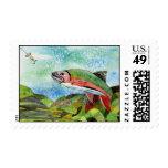 Winning Art By T. Phillips Grade 4 Stamp