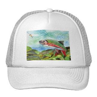 Winning Art By T. Phillips Grade 4 Trucker Hat