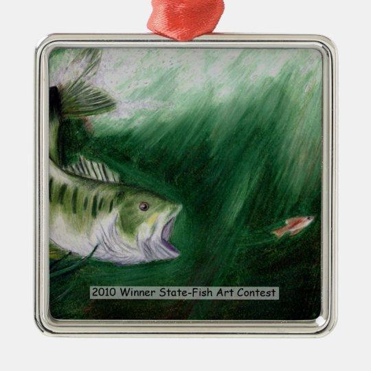 Winning Art By X. Nasa Grade 4 Metal Ornament