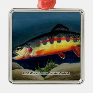 Winning Art By Y. Choi Grade 9 Metal Ornament