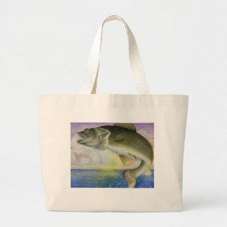 Winning Art By Y. Wang  Grade 9 Large Tote Bag