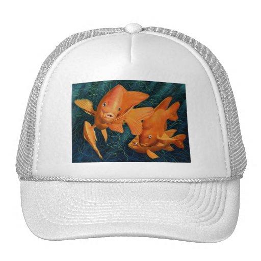 Winning Art By Y. Zhang Grade 10 Trucker Hats