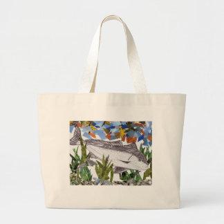 Winning artwork by A. Bryan, Grade 8 Large Tote Bag