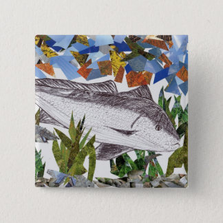 Winning artwork by A. Bryan, Grade 8 Pinback Button
