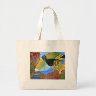 Winning artwork by A. Escoto-Smith, Grade 11 Large Tote Bag