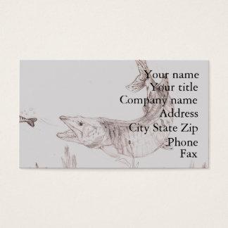Winning artwork by A. Smith, Grade 6 Business Card
