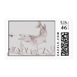 Winning artwork by A Smith Grade 6 Stamp
