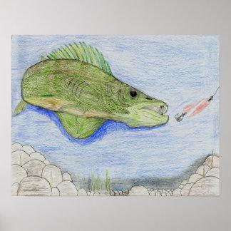 Winning artwork by A. Stieha, Grade 8 Posters
