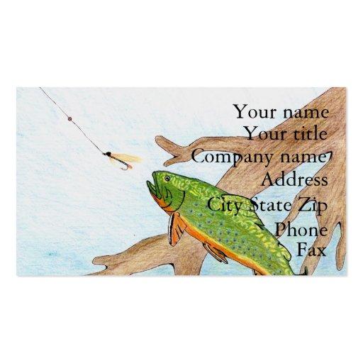 Winning artwork by A. Swirzewski, Grade 9 Business Card