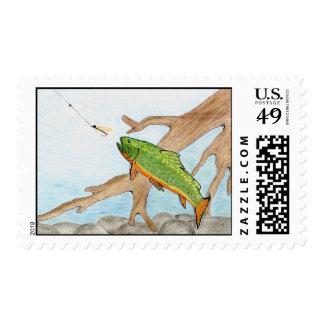 Winning artwork by A. Swirzewski, Grade 9 Stamp