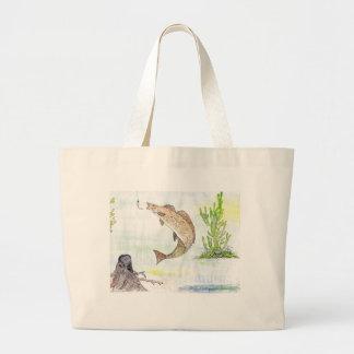 Winning artwork by A. Tahira, Grade 10 Large Tote Bag