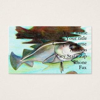 Winning artwork by A. Tan, Grade 7 Business Card