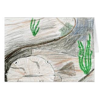 Winning artwork by B. Bailey, Grade 6 Card